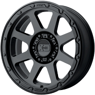 KMC XD134 Addict 2 Matte Black Wheels