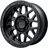 KMC XD135 Grenade OR Matte Black Wheels