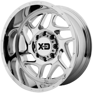 KMC XD836 Fury Chrome Plated Wheels