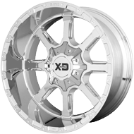 KMC XD838 Mammoth Chrome Plated Wheels