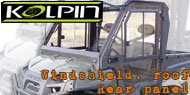 Kolpin Tilt Windshield<br /> Roof and Rear Panel