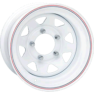 Keystone Wagon White Wheels