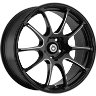 Konig Wheels <br>Illusion Black Ball
