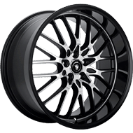 Konig Wheels <br>Lace Black