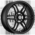Konig Wheels <br>Lightspeed Black