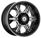 Konig Wheels <br>Locknload Matte Black Machined