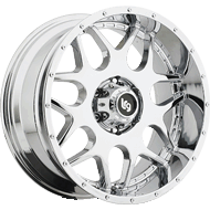 LRG 104 Chrome Finished Wheels