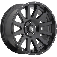 LRG Wheels <br>Gamer 107 Satin Black Finish