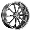 Lorenzo Wheels<br /> WL32 Chrome