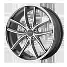 Lorenzo Wheels<br /> WL199 Titanium Gray