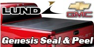 """<p class=""""make"""">Chevy GMC</p> Lund Seal and Peel Truck Bed Covers"""