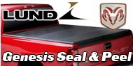 Dodge Lund Seal and Peel Truck Bed Covers
