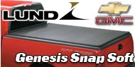 """<p class=""""make"""">Chevy</p> Lund Genesis Snap Soft Truck Bed Covers"""
