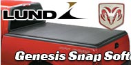 Dodge Lund Genesis Snap Soft Truck Bed Covers