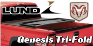 Dodge Lund Genesis Tri-Fold Truck Bed Covers