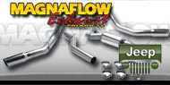 Magnaflow Cat Back Exhausts Jeep