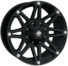 Mayhem Wheels<br /> RIOT 8010 Matte Black