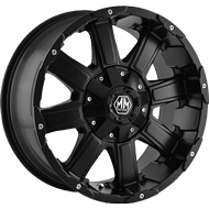 Mayhem Wheels<br /> CHAOS 8030 Matte Black