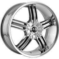 Mazzi Galaxy 365 Chrome Wheels