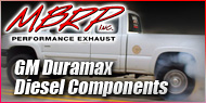 GM Duramax Diesel <br>Components <br>MBRP Performance Exhaust