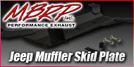 MBRP Jeep Muffler Skid Plate