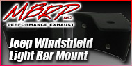 MBRP Jeep Windshield Mounts