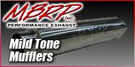 MBRP Universal Mild Tone Mufflers