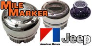 Mile Marker Lockout Hubs for AMC/Jeep