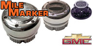 Mile Marker Lockout Hubs <br>Chevy/GMC
