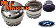 Mile Marker Lockout Hubs for Ford