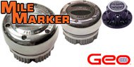 Mile Marker Lockout Hubs for GEO
