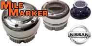 Mile Marker Lockout Hubs<br /> Nissan