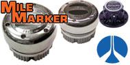 Mile Marker Lockout Hubs<br /> Rockwell