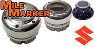Mile Marker Lockout Hubs<br /> Suzuki