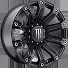 Monster Energy Wheels<br /> 534B Satin Black