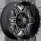 Monster Energy Wheels<br /> 538BM Gloss Black