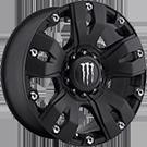 Monster Energy Wheels<br /> 642B Satin Black