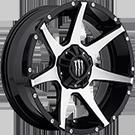 Monster Energy Wheels<br /> 647MB Gloss Black