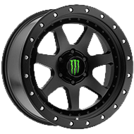 Monster Energy 540B Wheels<br /> Satin Black