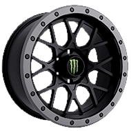 Monster Energy 649BA Wheels<br /> Satin Black