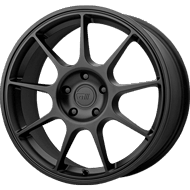 Motegi Racing MR138 Satin Black Wheels