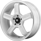 Motegi Racing Wheels<br /> MR122 White Machined