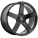 Motiv Wheels<br /> 416BU Monterey Satin Black