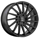 Motiv Wheels<br /> 417B Montage Satin Black