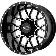 Moto Metal MO986 Siege Gloss Black Machined Wheels