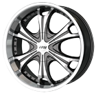 MPW Wheels <br/>MP209 Black