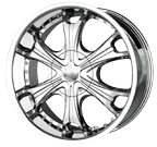 MPW Wheels <br>MP209 Chrome