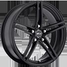 MSR Wheels <br>Style 048 Black