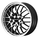 Maxxim Wheels </br> Chance Gloss Black w/ Machined Face and Lip
