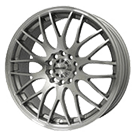 Maxxim Wheels </br> Maze Silver w/ Full Machined Face